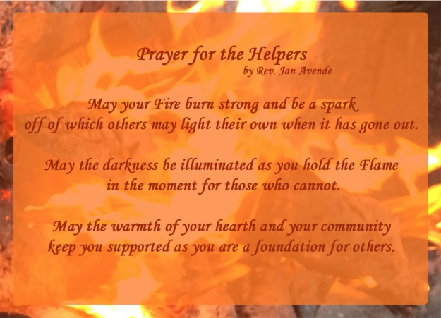 Prayer for Helpers