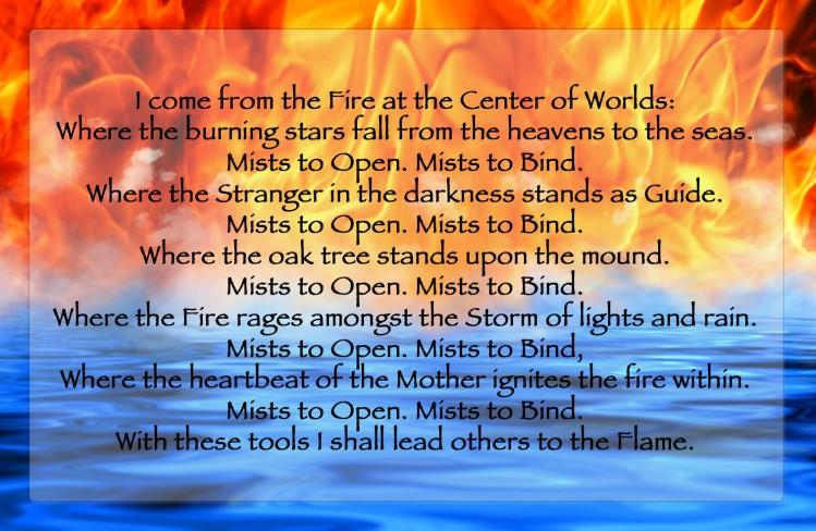 Initiation Oath