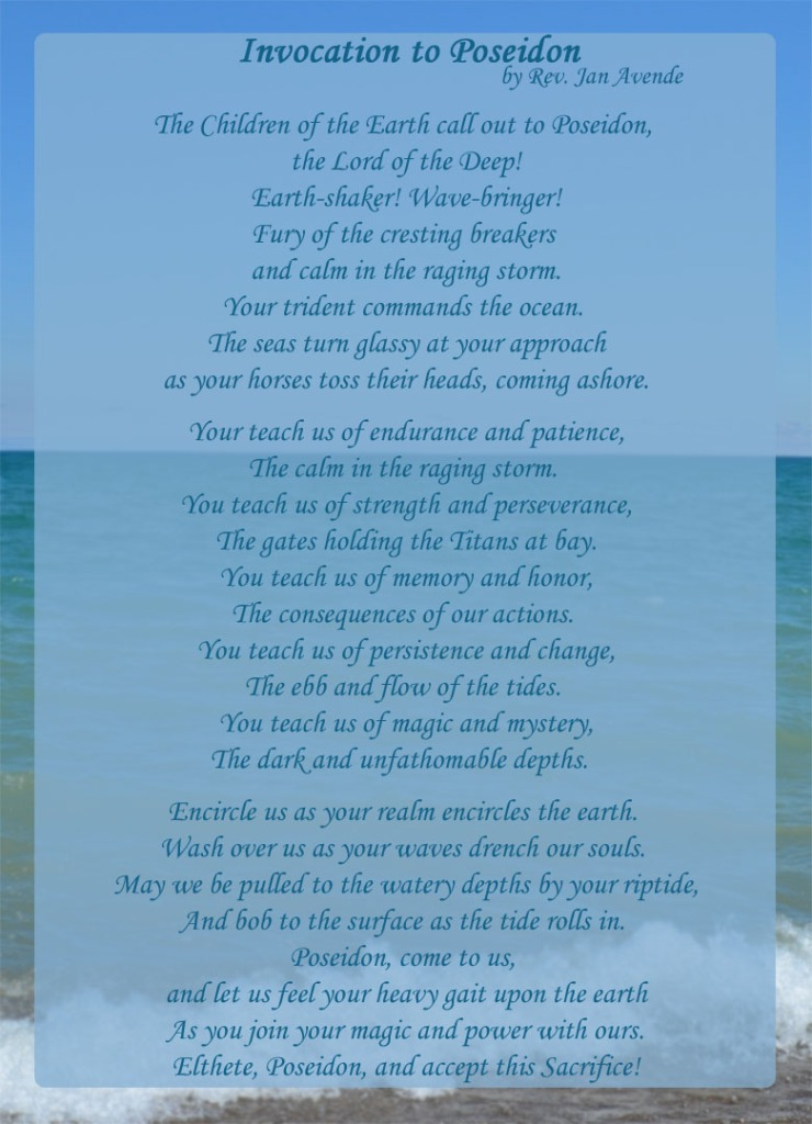 Invocation to Poseidon